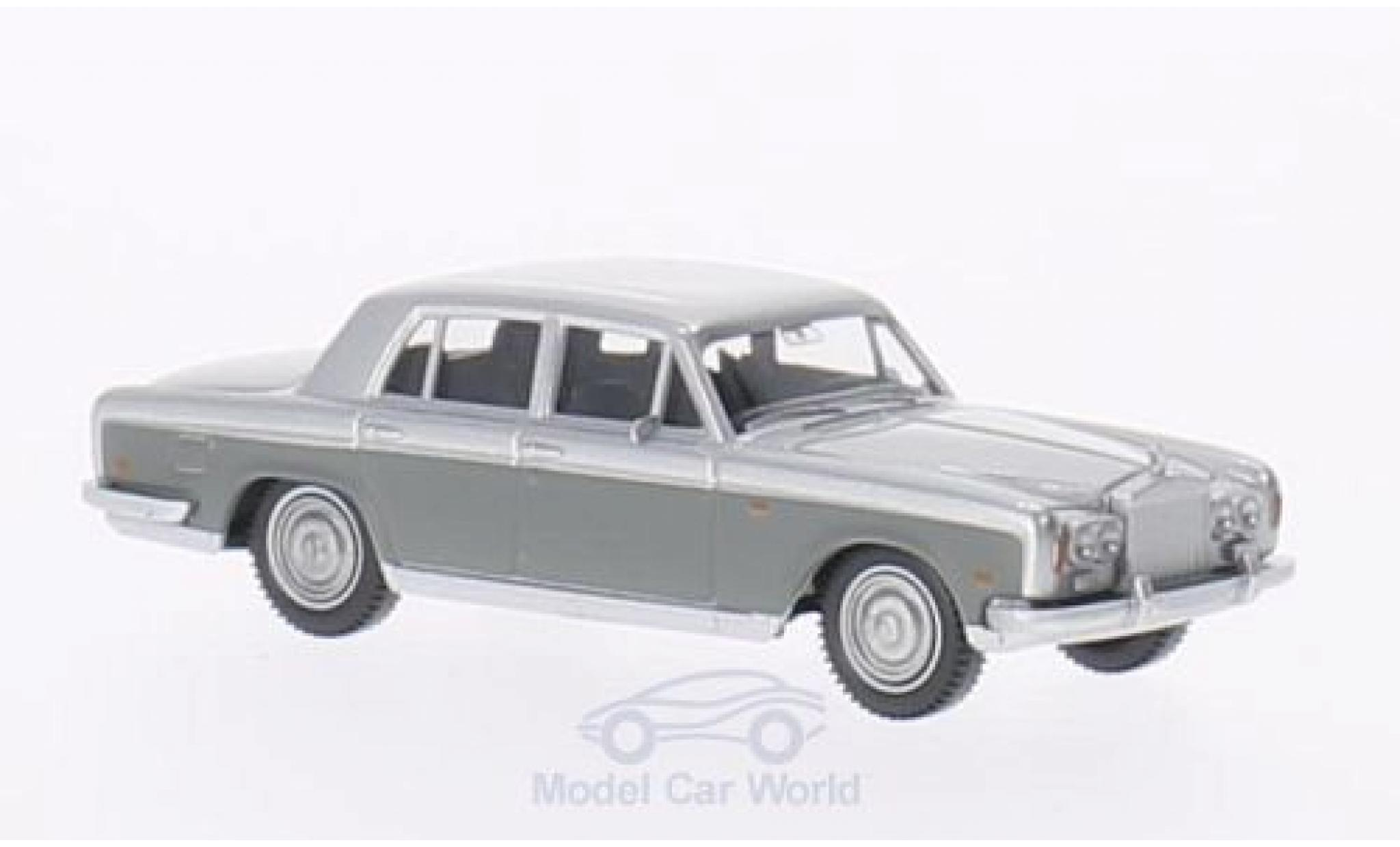 Rolls Royce Silver Shadow 1/87 Wiking grise/grise