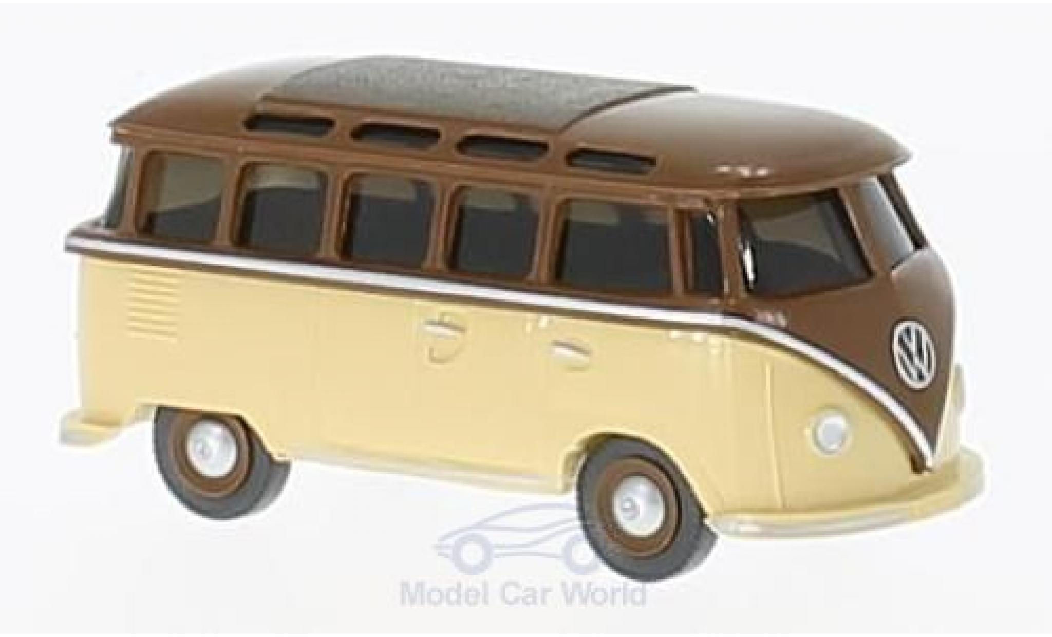 Volkswagen T1 B 1/87 Wiking brown/beige Sambabus