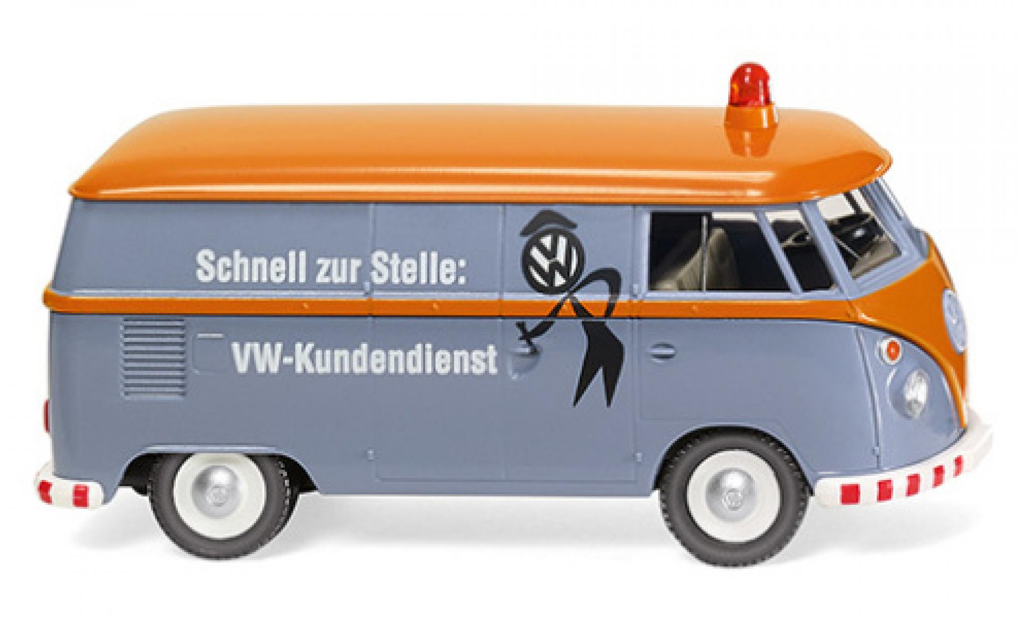 Volkswagen T1 1/87 Wiking Kastenwagen Kundendienst 1963