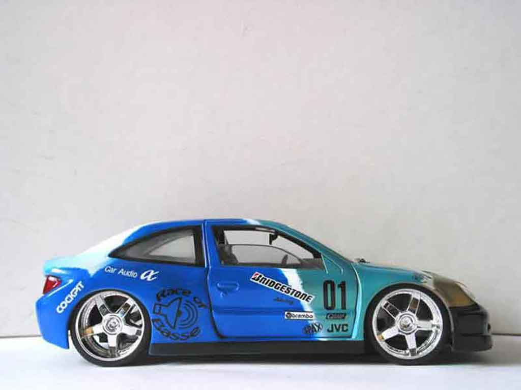 Citroen Xsara tuning 1/18 Solido race of basse tuning miniature