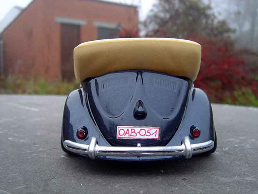 Volkswagen Kafer 1/18 Solido Coccinelle Cabriolet 51 resto-cal