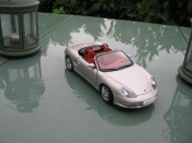 Porsche Boxster gray