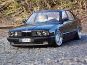 Audi 535 1988 E34 alpina wheels Minichamps tuning