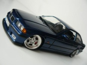 Bmw M3 E36 blue avus wheels porsche 18 inches