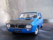 Renault 12 Gordini  preparation racing Solido