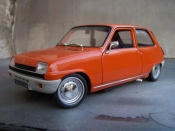 Renault 5 TL tuning orange