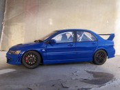 Lancer Evolution VII jdm blue