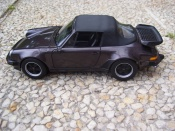 Porsche 911 Turbo  3.3 cabriolet Norev 1/18
