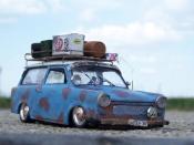 Trabant 601 kombi rat