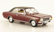 Opel Commodore miniature A  rouge noire 1968