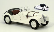 Bmw 328 miniature 1940 beige