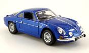 Renault Alpine A110  1600 s bleu 1971 Maisto 1/18
