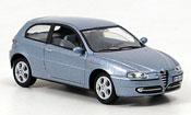 Alfa Romeo 147 diecast blue 2000