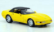 Chevrolet Corvette ZR1 Cabrio yellow
