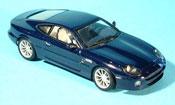 Aston Martin DB7  miniature vantage bleu