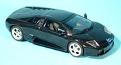 Lamborghini Murcielago   black  2001 Autoart