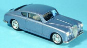 Lancia Aurelia miniature B20 bleu 1951