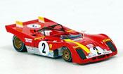 Ferrari 312 PB no.2 ickx andretti 6 std. daytona 1972