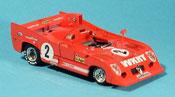 Alfa Romeo 33.3 1975 miniature tt 12 no. 2 merzario lafitte 1000 km monza