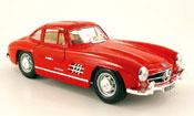 Mercedes 300 SL miniature rouge