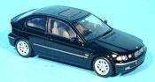 Miniature Bmw 3er 2001  Compact noire 2001