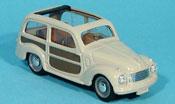 Fiat 500 C Belvedere grey offen 1951