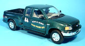 Ford F 150 miniature forest verte