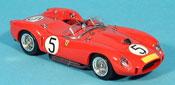 Miniature Ferrari 250 TR 1958  nurburgring luigi musso