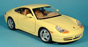 Porsche 996 Carrera yellow