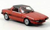 Fiat X 1/9 rosso 1972