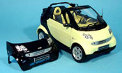 Smart Cabriolet verde (bodypanel nero)
