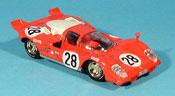 Ferrari 512 S  andretti 24 h daytona 1970 Brumm 1/43