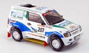 Mitsubishi Pajero Evolution miniature No.207 JP.Fontenay Rallye Dakar 2002