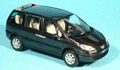 Peugeot 807 miniature noire 2002