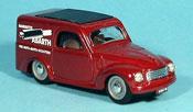 Fiat 500 C Topolino  red Abarth Lieferwagen 1956