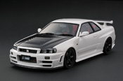 Nissan Skyline R34 miniature 1/18 Nismo R34 GT-R Z-tune White (HOBBY FORUM 2013 MEMORIAL EDITION) IG0011