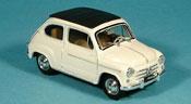 Fiat 600   D geschlossen creme 1960 Brumm