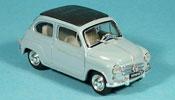 Fiat 600 D geschlossen blue 1960