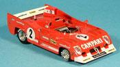 Alfa Romeo 33.3 1975 miniature tt 12 no.2 pescarolo bell sieger 1000 km spa