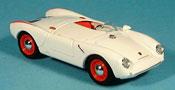 Porsche 550 1954 RS white Strassenversion