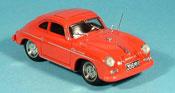 Porsche 356 1952 Coupe Carrera rosso