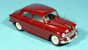 Fiat 1400 miniature B  rouge police Zivilstreife 1956