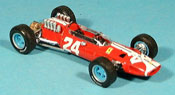 Ferrari 158 miniature 1965 no.24 bob bondurant gp usa
