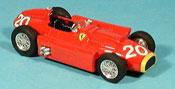 Ferrari D50 rosso juan manuel fangio 1956
