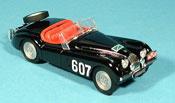 Miniature Jaguar XK 120  alpenrallye no. 607