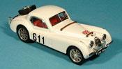 Jaguar XK 120 miniature coupe alpenrallye 1953