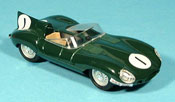 Jaguar Type D miniature 1954 hp 260 no. 1