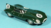 Jaguar Type D 1955 miniature le mans mike hawthorn