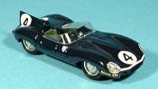Jaguar Type D miniature 1956 le mans ninian sanderson