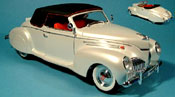 Miniature Lincoln Zephyr   blanche 1939